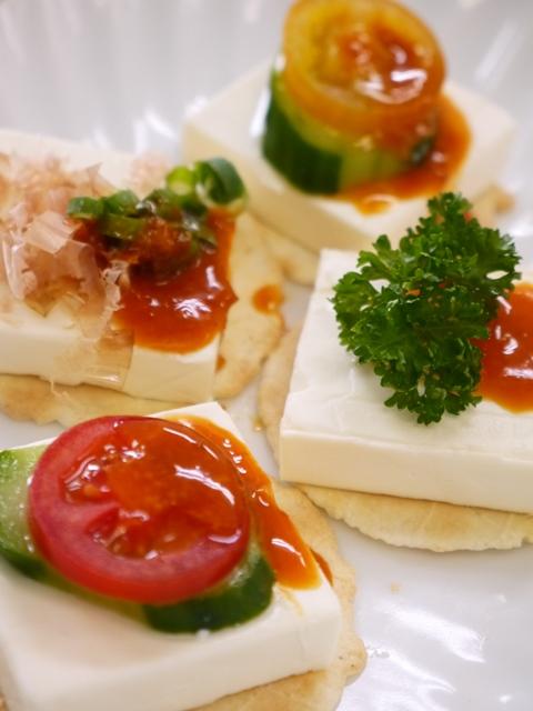 アサデス。取材レポート クリームチーズに雲丹醤油
