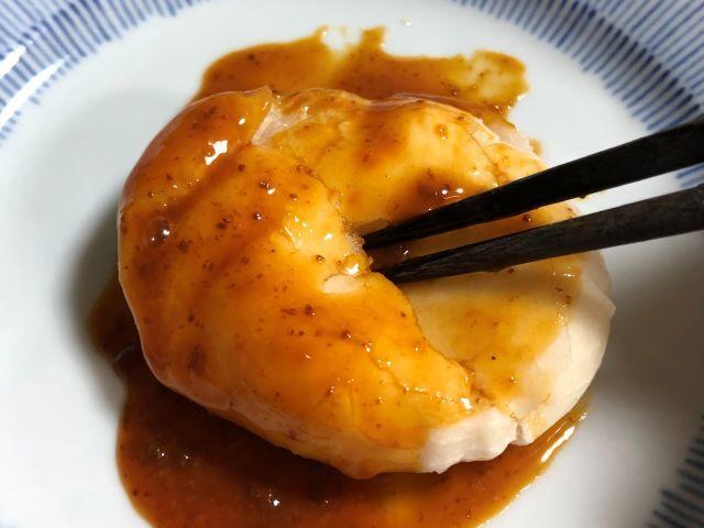川田餅本舗さんのお餅を焼いて雲丹醤油をかけてみた