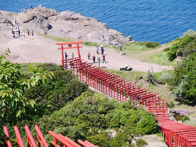 16元乃隅稲荷神社上段から.JPG