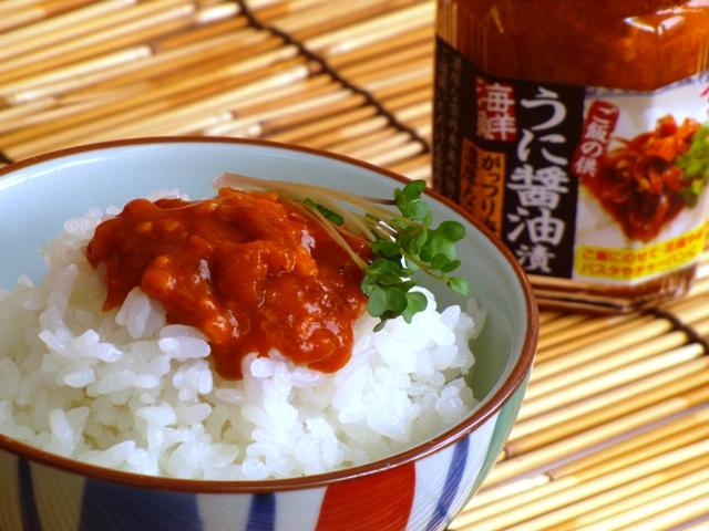 食べる雲丹醤油